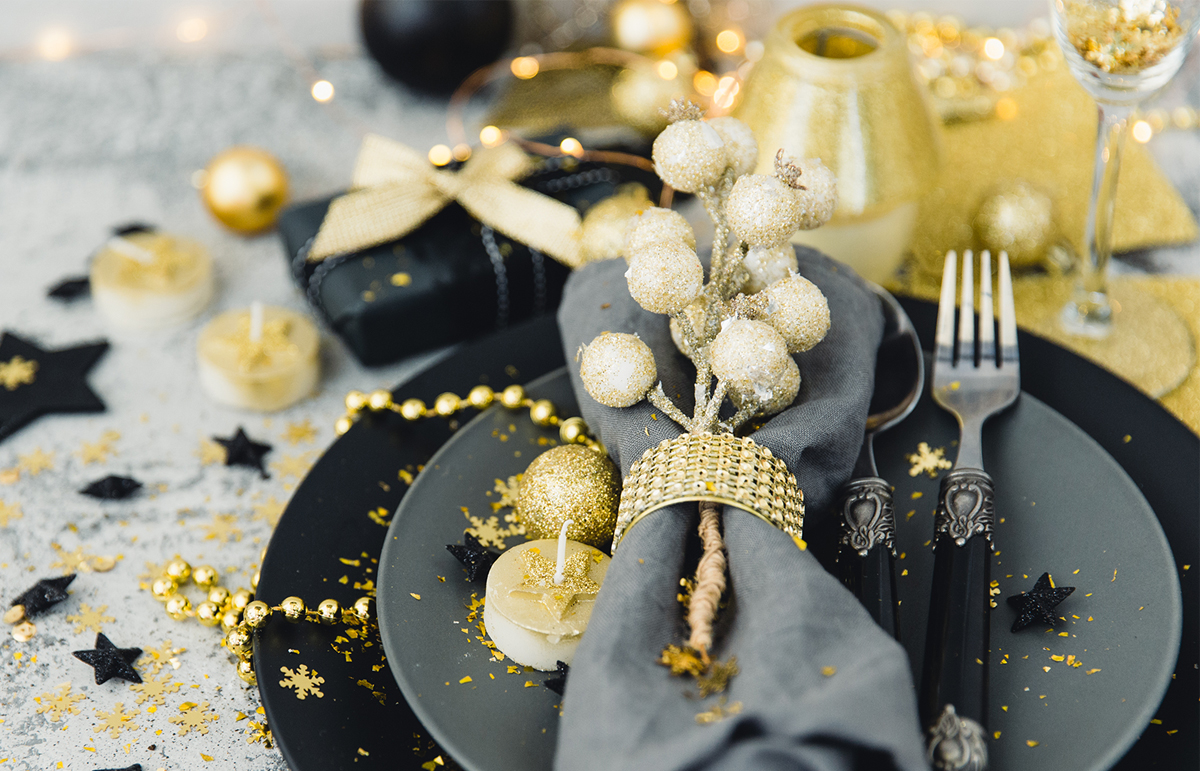Christmas table settings to inspire you