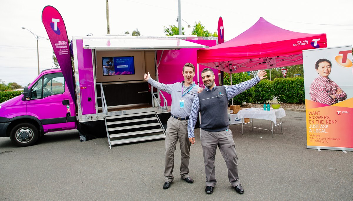 Meet Brad at Parkmore Telstra
