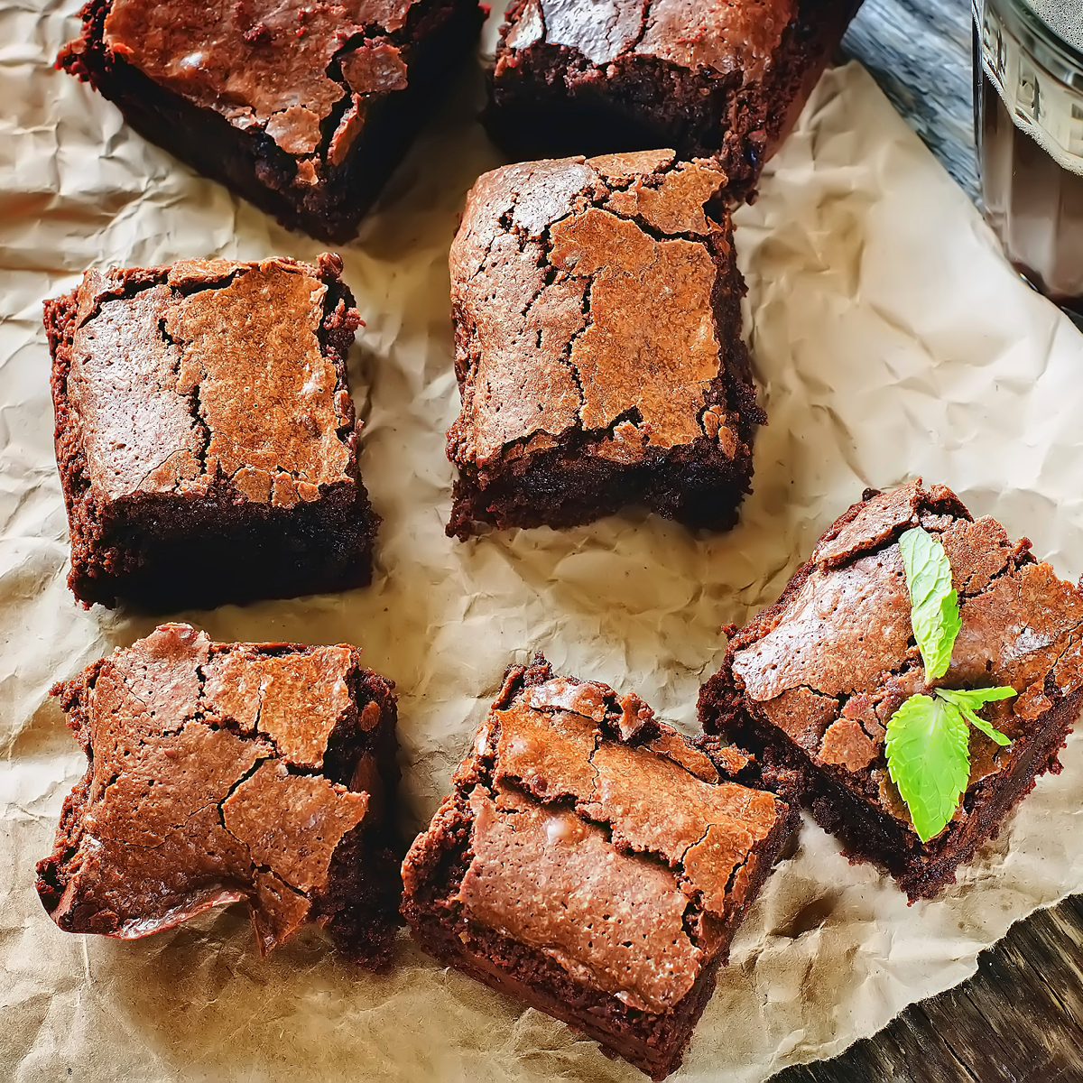 Warm Fudge Brownies