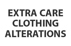 Extra Care Clothing Alterations