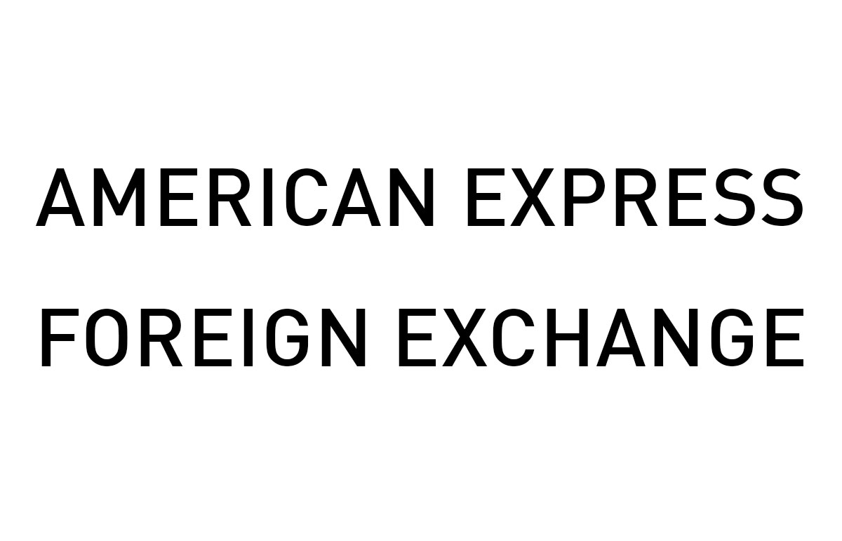 Amercian Express Foreign Exchange