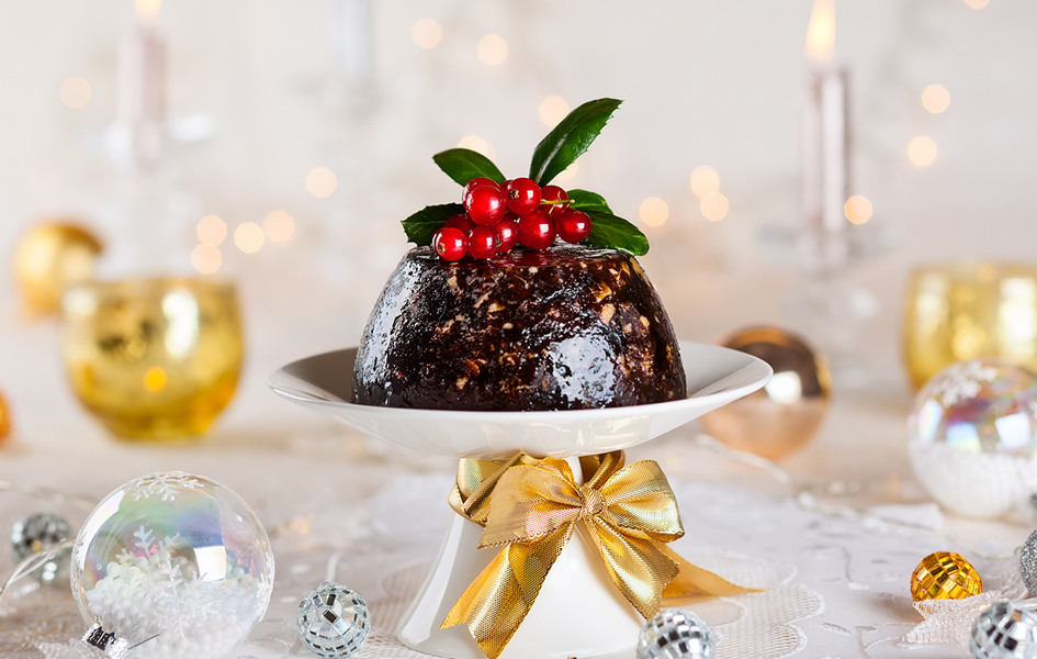 Easy Traditional Christmas Pudding