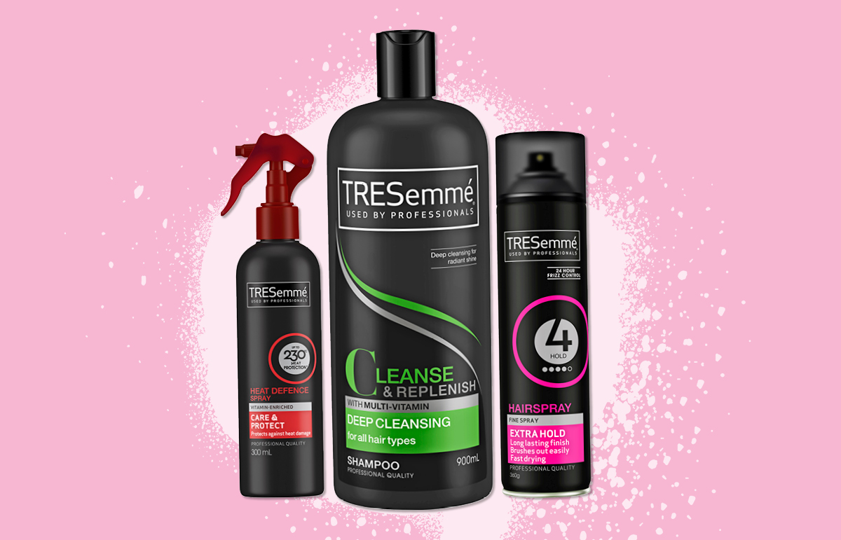 ½ Price on the Tresemme Haircare and Styling ranges *^ at Priceline