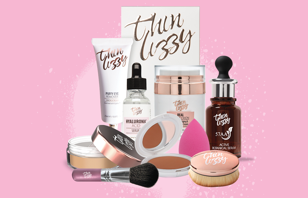 40% off Thin Lizzy Makeup and Skincare** at Priceline