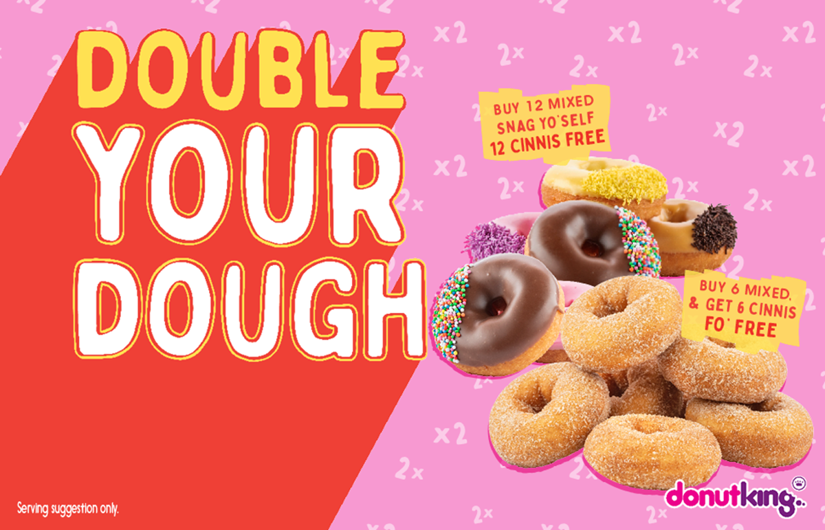 Donut King - Double your dough