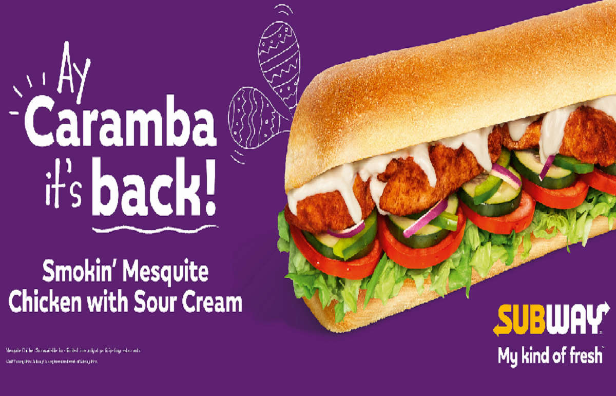 Subway Mesquite Chicken