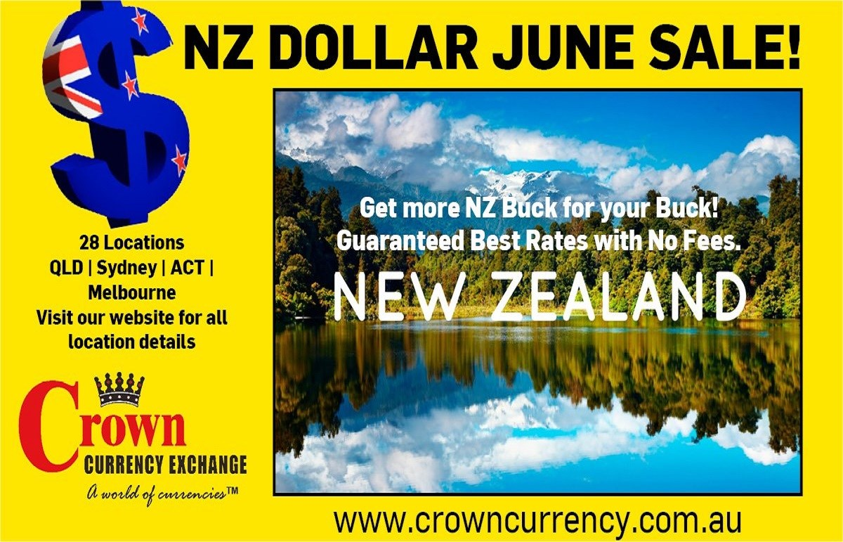 New Zealand Dollar June Sale