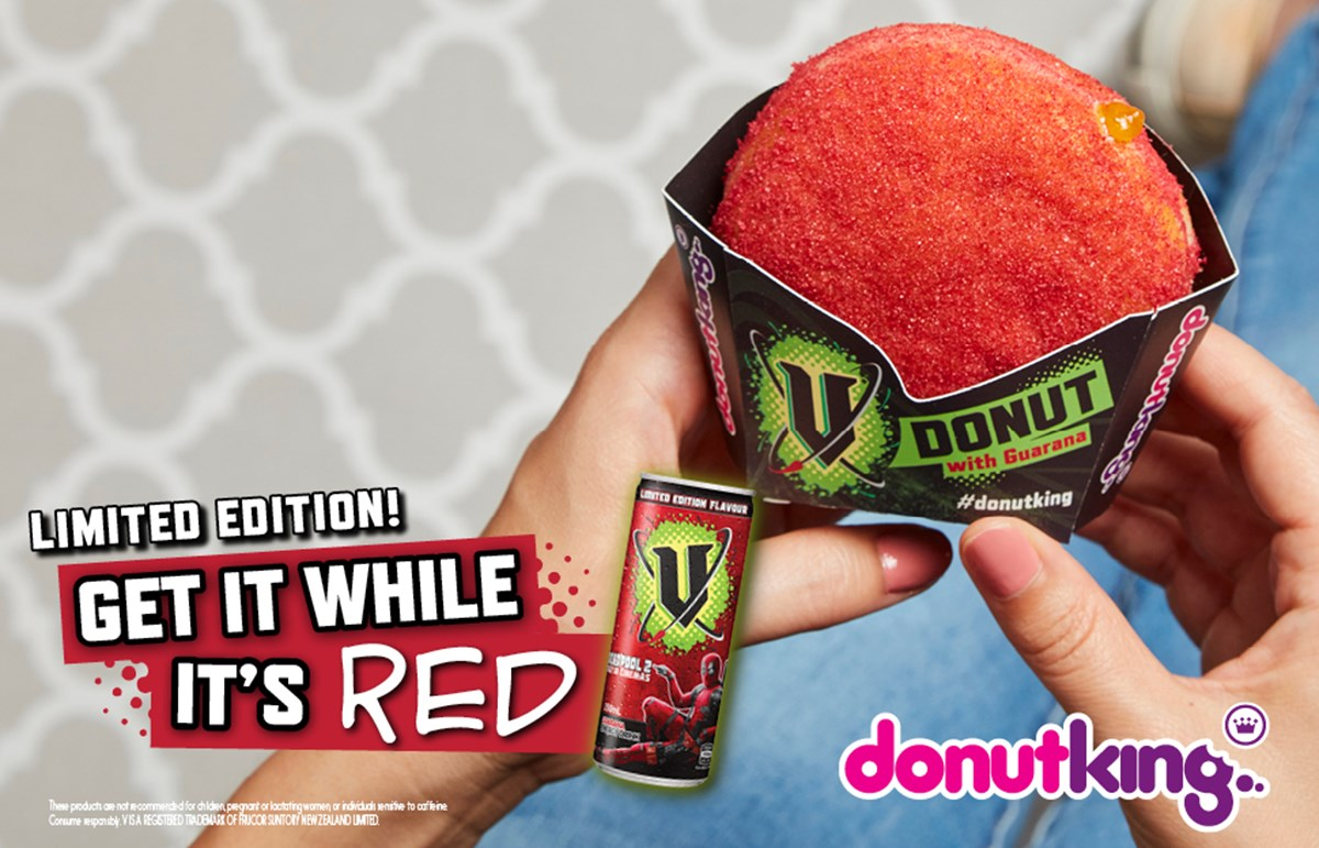 Limited edition Red V Donut