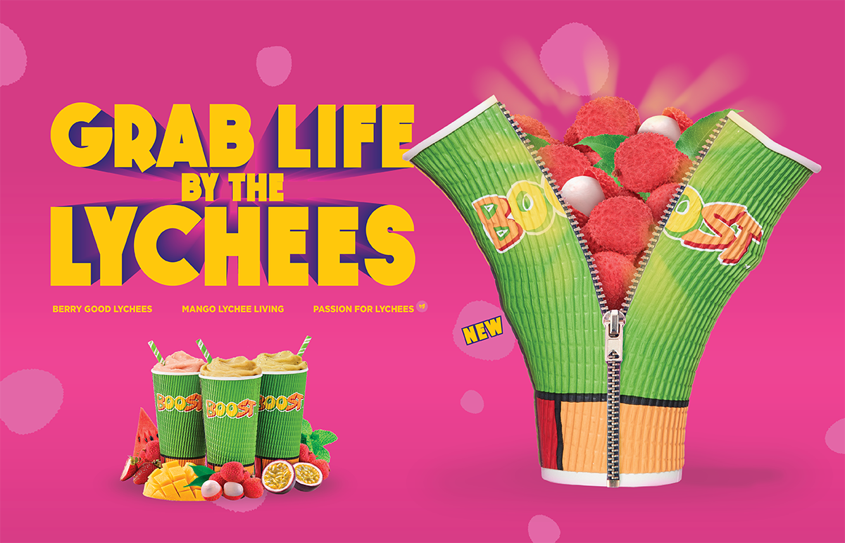 Live, Love, Lychee – come sweeten up your life with our new Lychee drinks!