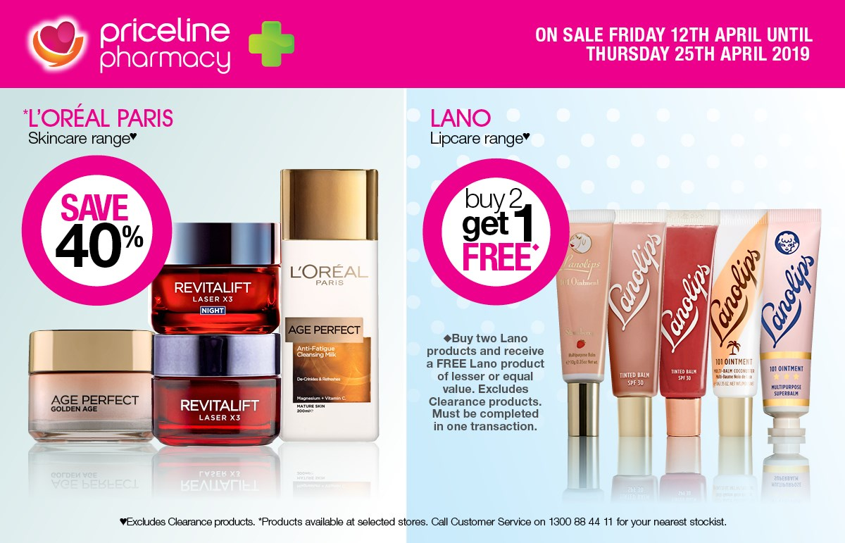 Priceline Pharmacy Health and Beauty Offers
