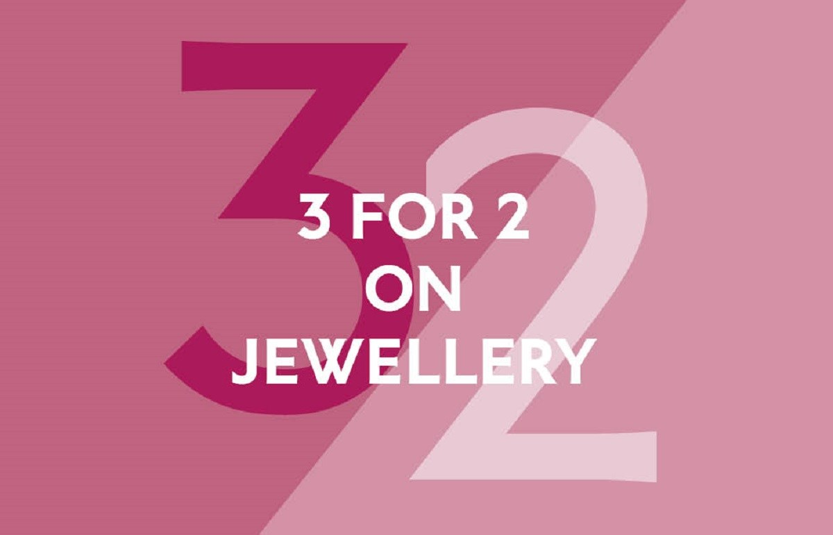 Pandora 3 for 2 on Jewellery offer,